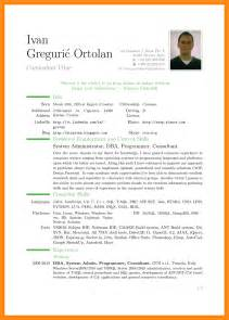 template of curriculum vitae 28 images 48 great