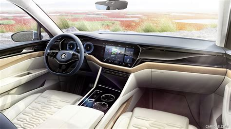 2018 Volkswagen T Prime Gte Concept Interior Hd