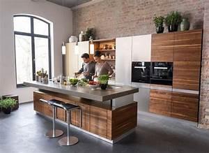 Küche Mit Kochinsel Günstig : kochinsel k7 aus naturholz mit von hand sortierten fronten ~ Watch28wear.com Haus und Dekorationen