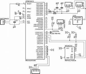 Electrical Schematic Of Circuit Board