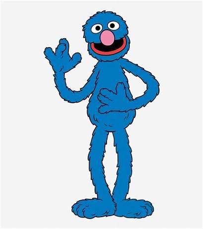 Grover Sesame Street Cartoon Clipart Svg Dxf