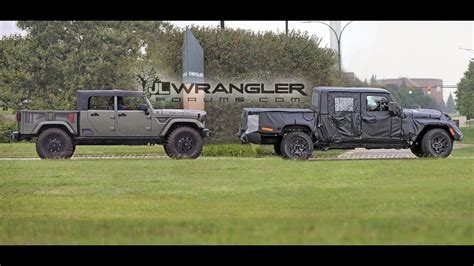 Jeep Jt 2020 by 2020 Jeep Gladiator Jt Wrangler Based Spied