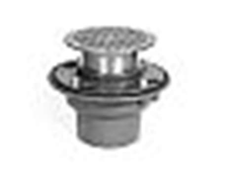 zurn floor drain zn415 zurn zn415 2nh 5b 2 quot cast iron floor and shower drain with