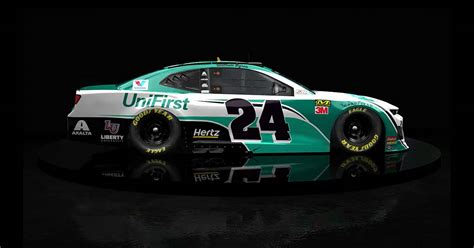 unifirst unveils   chevrolet camaro zl race car