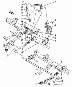 2005 Dodge Ram 1500 Upper And Lower Control Arms  Torsion