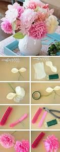 diy fleur papier tutos idees deco accueil design et mobilier With chambre bébé design avec bouquet de fleurs mariage pas cher
