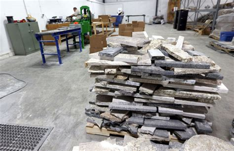 goodwill plant recycles granite into new products