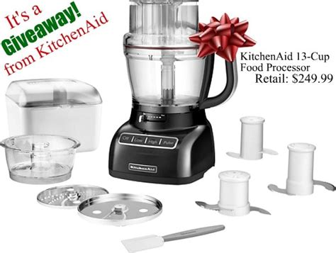 Kitchenaid Mixer Food Processor Review by Kitchenaid Food Processor Review And Giveaway