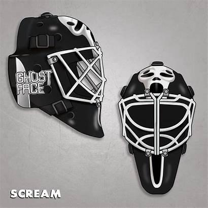 Hockey Horror Masks Scream Nhl Ghostface Season