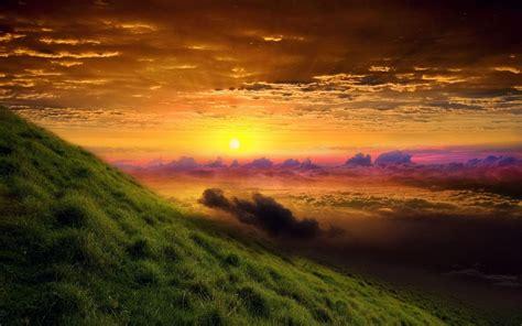 Yellow Sky Amazing Nature 4k Full Hd Backgrounds Hd