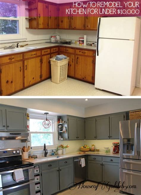 Diy Kitchen Cabinet Painting Ideas by 12 Diy Cheap And Easy Ideas To Upgrade Your Kitchen 4