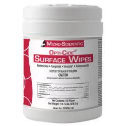 Opti-Cide3 Surface Disinfectant Wipes | Emergency Medical