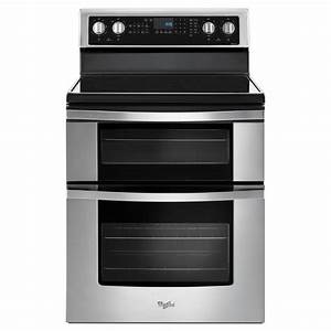 Shop Whirlpool 30-in Smooth Surface 5-Element 4.2-cu ft ...