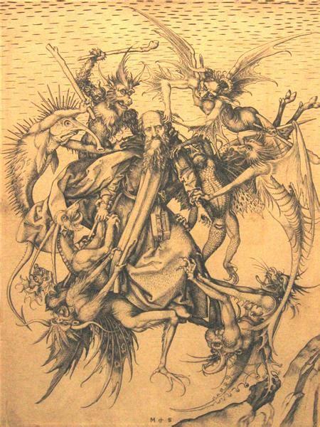 Holy Antonius Martin Schongauer Wikiart