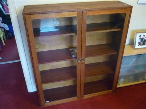 Furniture Lovely Tall Cabinet With Glass Doors Design
