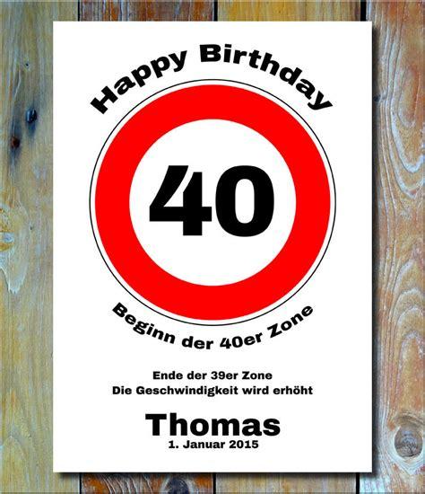 10 geburtstag deko personalisiertes geschenk verkehrszeichen bild geburtstag 40 deko verkehrsschild ebay