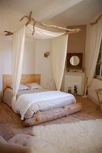 Deco Chambre Bois : 50 id es pour la d co bois flott ~ Melissatoandfro.com Idées de Décoration