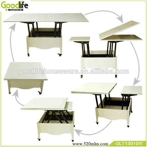 And can swivel apart making some extra space. Source Multifunctional wooden folding dining table coffee table on m.alibaba.com | Folding ...