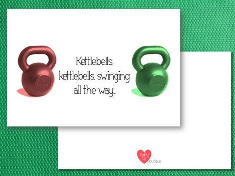 christmas cards kettlebells kettlebell etsy weight sold card
