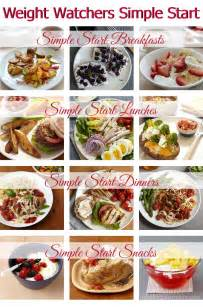 Start Weight Watchers Simple Meals