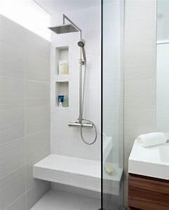 Petite Salle De Bain Avec Douche Italienne : am nagement petite salle de bain 34 id es copier ~ Carolinahurricanesstore.com Idées de Décoration