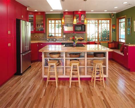 de  fotos  ideas de cocinas rojas