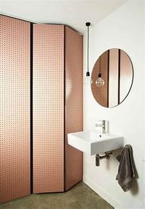 Deco Couleur Cuivre : palette couleur salle de bain d corer avec la couleur marron ~ Teatrodelosmanantiales.com Idées de Décoration