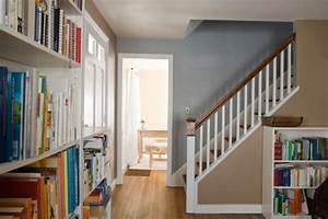 Farbgestaltung Flur Diele : bien am nager les recoins paliers couloirs et dessous d escalier homebyme ~ Orissabook.com Haus und Dekorationen