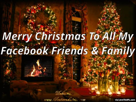merry christmas    facebook friends  family