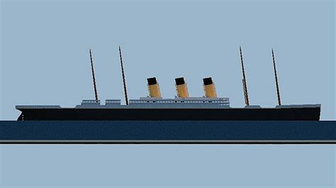 rms olympic sinking simulator rms olympic plan 1907 minecraft project