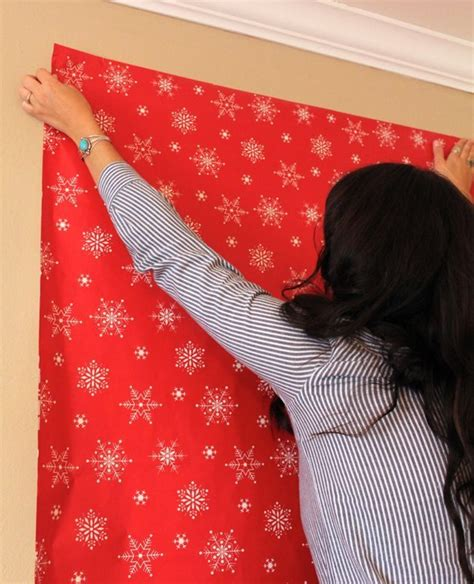 Diy Photo Backdrop With Wrapping Paper by Wrapping Paper Would Be The Easiest Way To Act As A