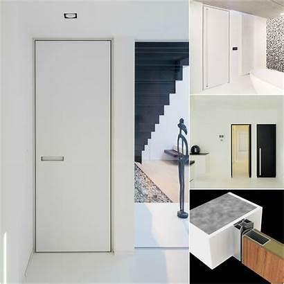Doors Door Interior Minimalist Modern Frame Block