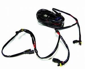 Four Output Wire Relay Harness Kit For Led Light Bars Fog