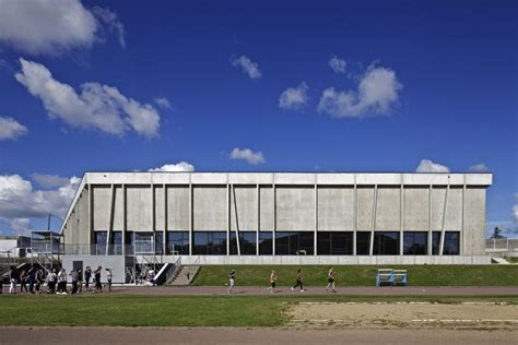 salle de sport nazaire gymnase henri fogel nazaire par agence christophe rousselle