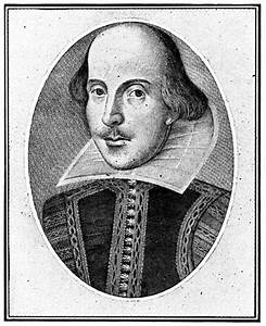 William Shakespeare Portrait Black And White   www.imgkid ...
