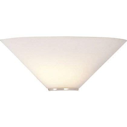 mozart white glass uplighter wall light 141639 homebase 163 9 99 lighting