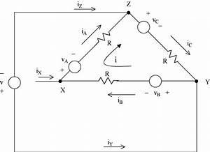 Circuit Model Of A Three