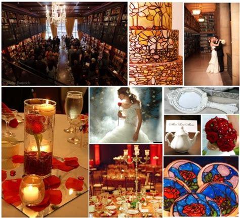Wedding Theme Beauty and the Beast Wedding Pinterest