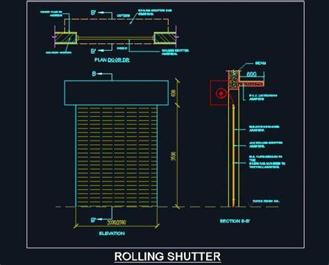 interior design ideas for homes rolling shutter detail design plan n design