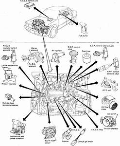 Where Is The Crank Sensor Located On A 1988 Nissan Maxima