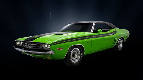 (23448) Muscle Car 1920 Widescreen Desktop Wallpaper