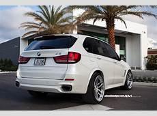 Alpine White BMW X5 ADV005 Track Spec CS Wheels