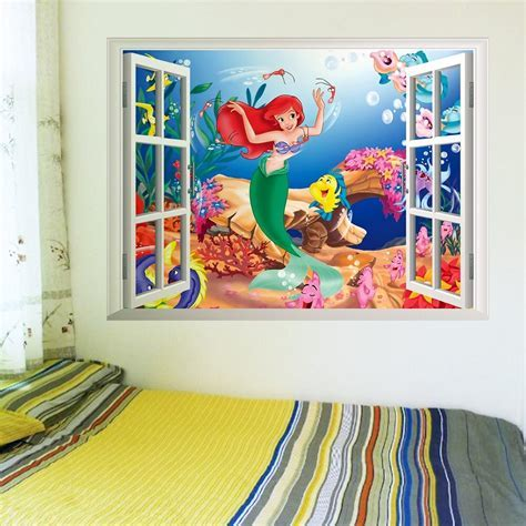 The Little Mermaid Nursery Wall Decals ? the treasure thrift