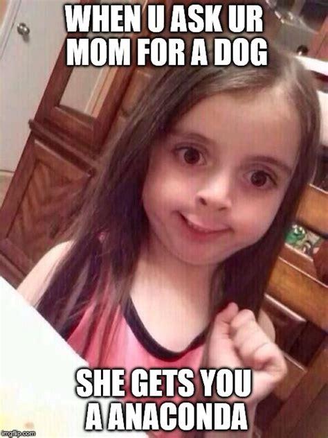 Little Girl Meme - little girl funny smile imgflip