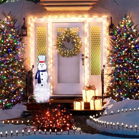 how to hang christmas lights around windows outdoor holiday lighting ideas
