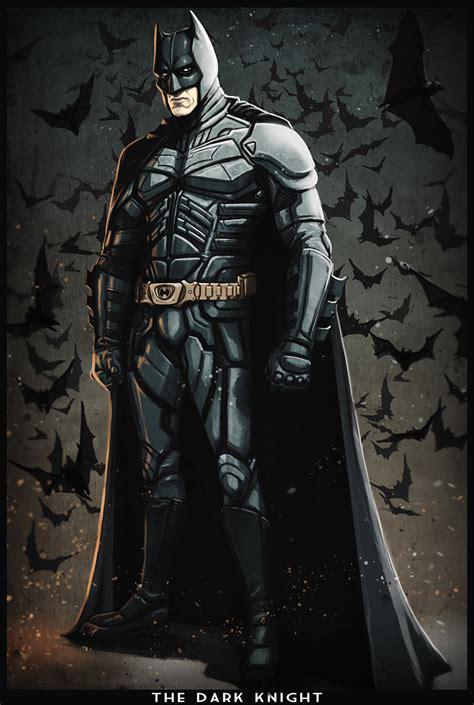 Batman The Dark Knight Cartoon Version By Digitalinkrod On