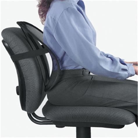 chaise de bureau ergonomique dos cale dos pour siège de bureau prévient le mal de dos