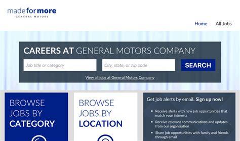 General Motors Careers Login