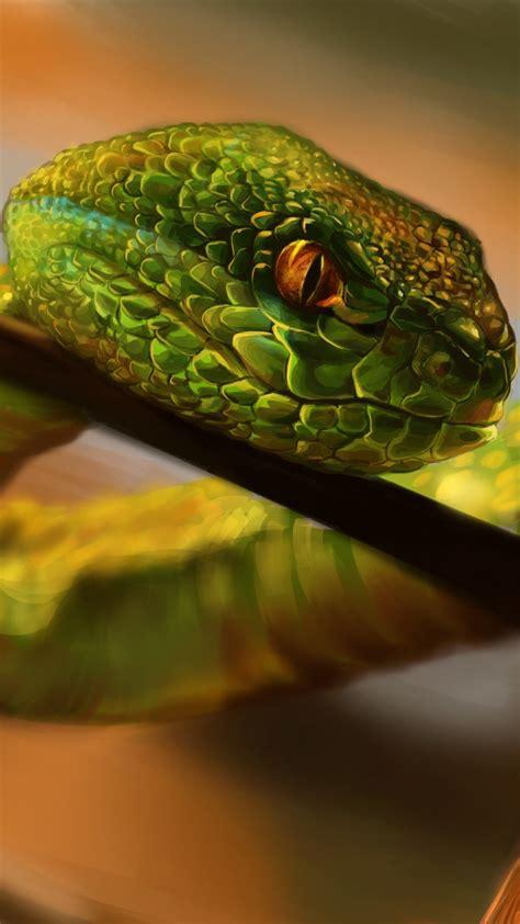snake crawling wallpapers