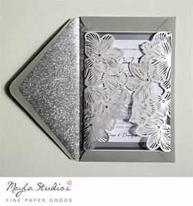 floral laser cut wedding invitation sample 2512130 With laser cut wedding invitations free samples
